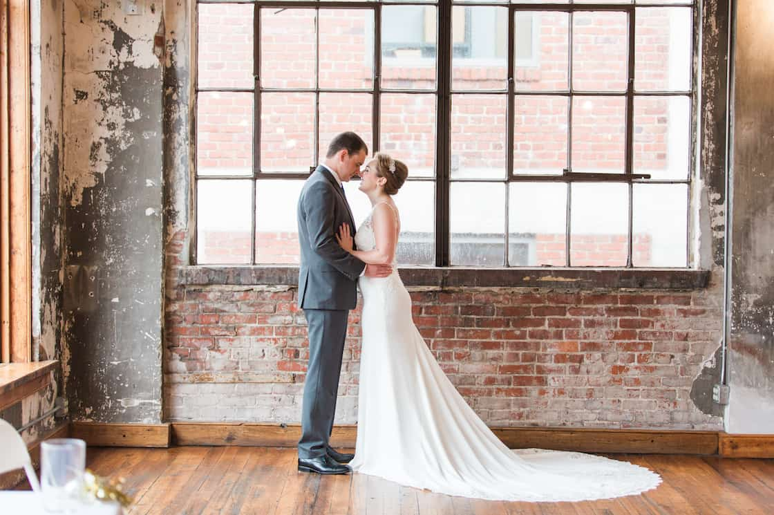 urban wedding in the kc crossroads
