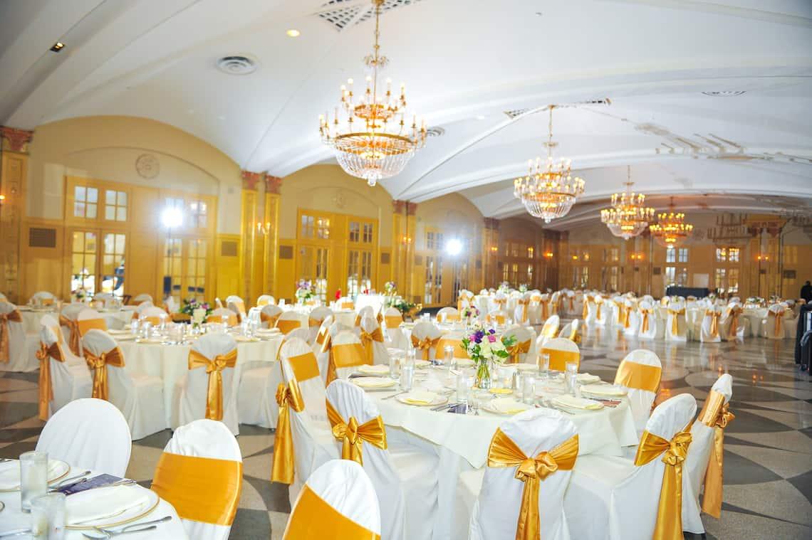 Hilton President Wedding Reception