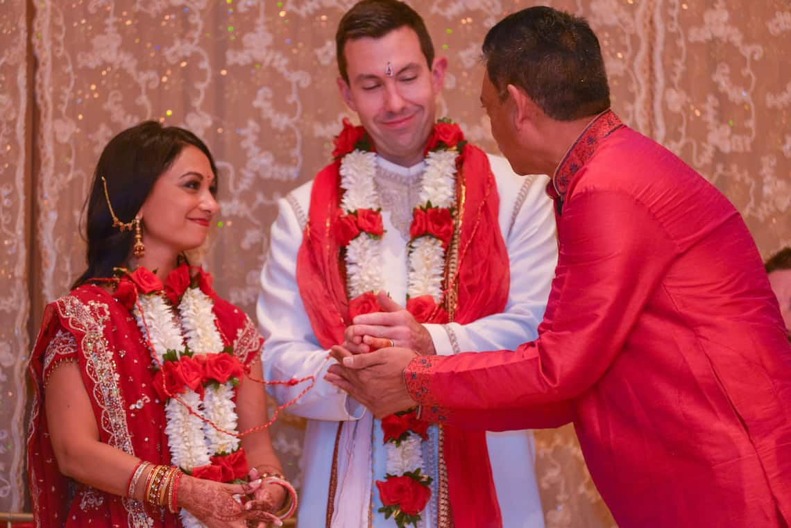 Hindu Wedding Blessing Kansas City