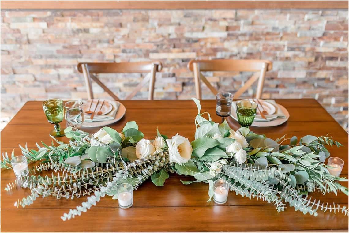 Greenery Accent for Farm Table