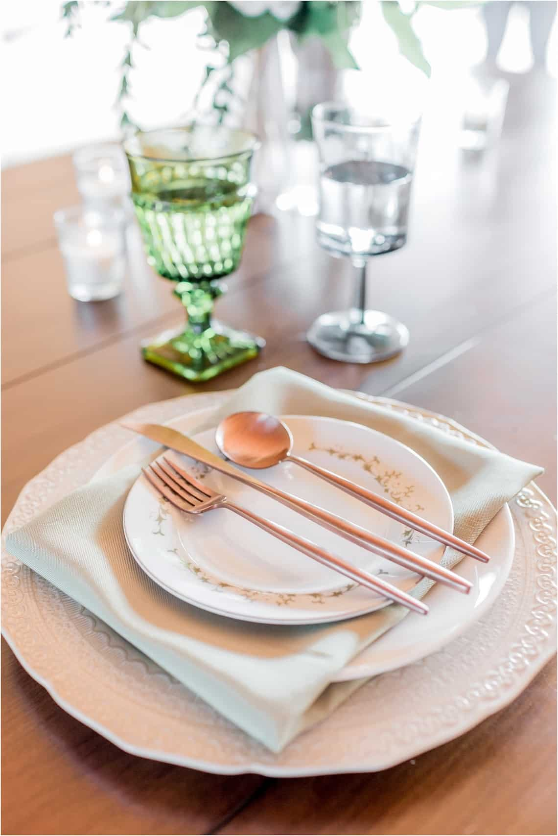 Southern Glassware and Vintage Wedding Plates