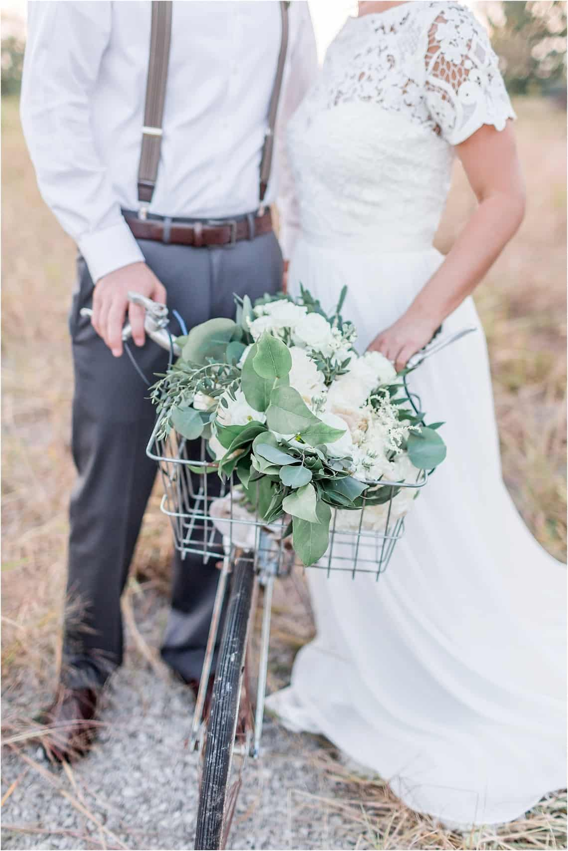 Wedding Bicycle with Flowers
