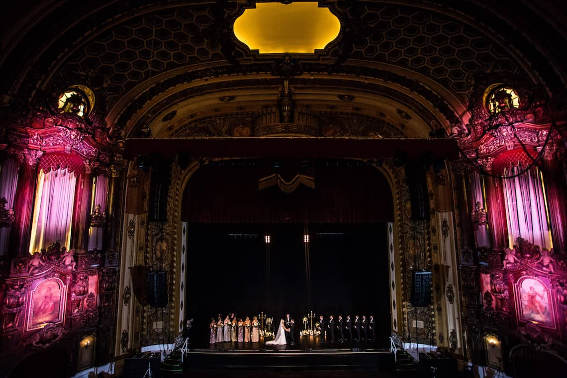 Theater Inspired Wedding