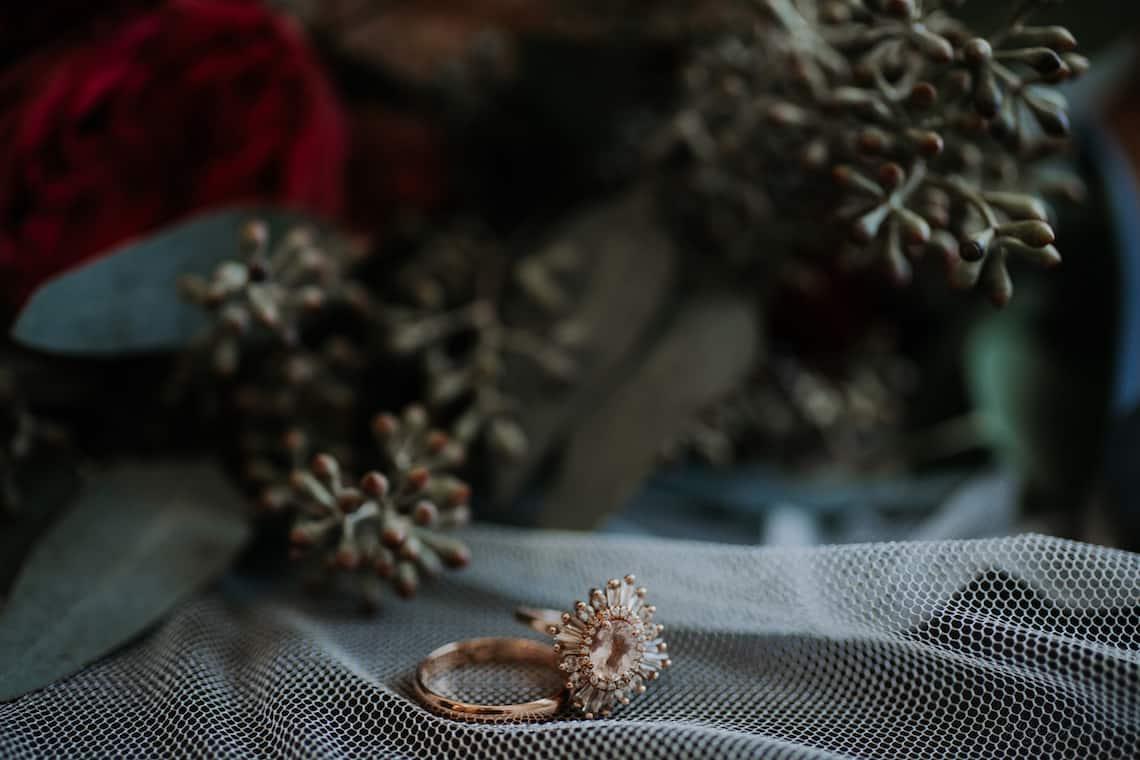 Vintage Gold Wedding Ring