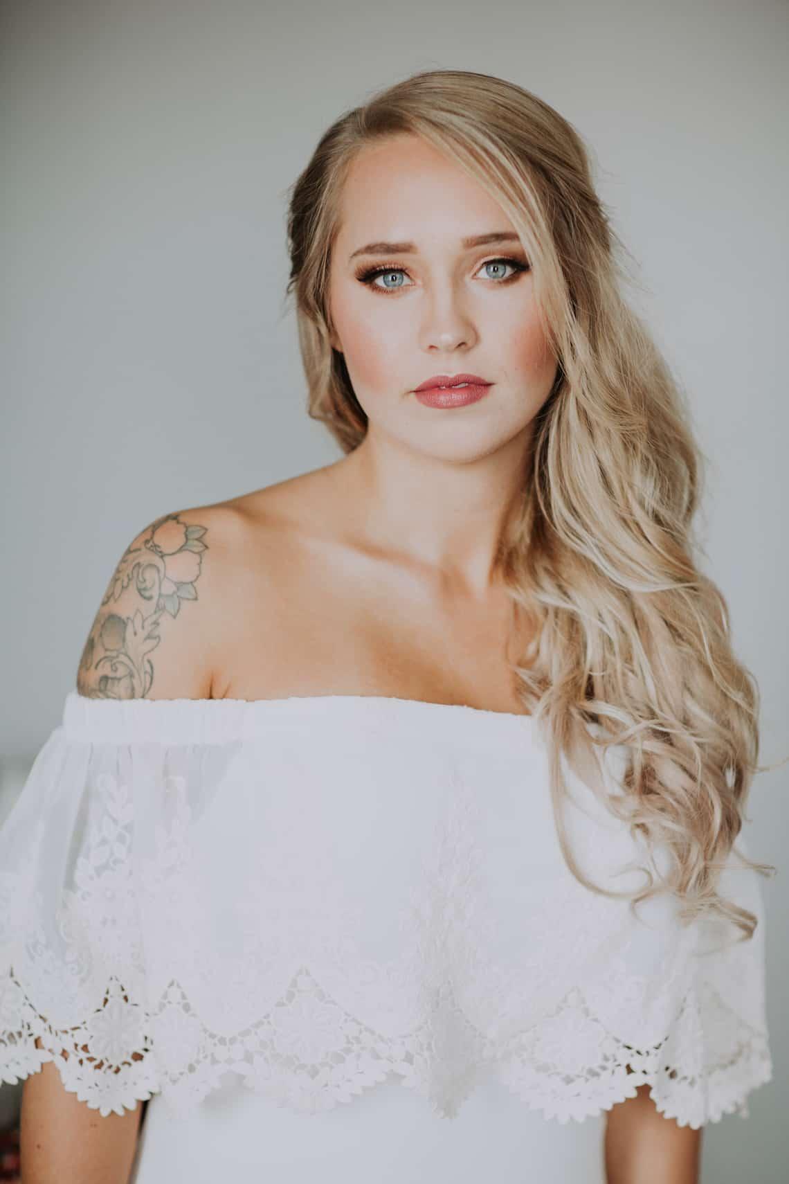 Boho Bride Hair & Makeup