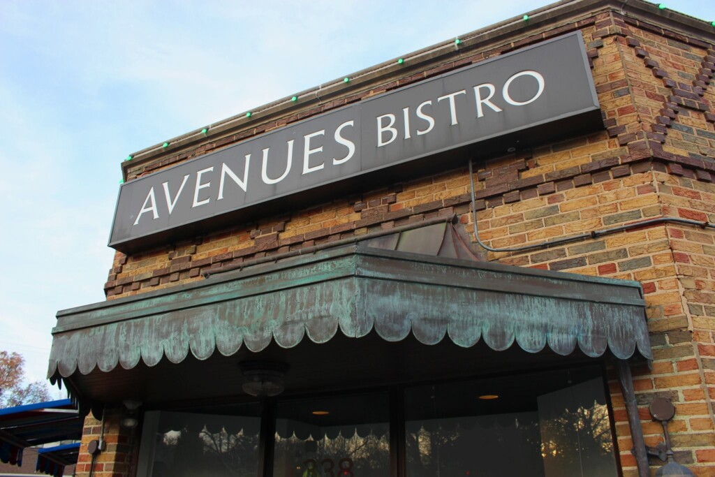Avenues Bistro Rehearsal Dinner