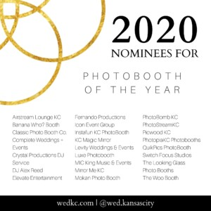 Wed KC Wedding Vendor Choice Awards 2020 Nominees for Photobooth of the Year