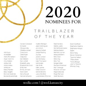 Wed KC Wedding Vendor Choice Awards 2020 Nominees for Trailblazer of the Year