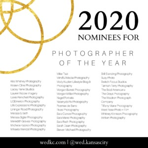 Wed KC Wedding Vendor Choice Awards 2020 Nominees for Photographer of the Year