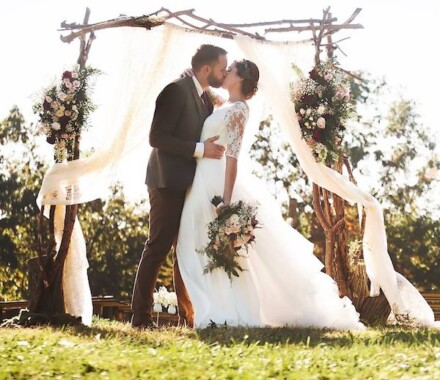 Altar Bridal Wedding Dress Kansas City arch