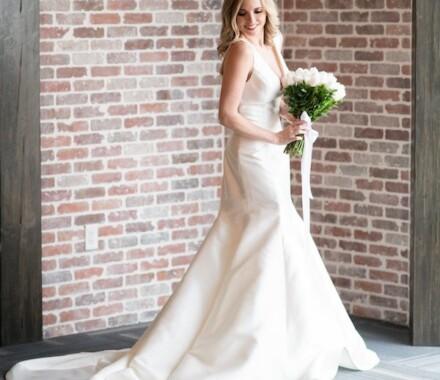 Altar Bridal Wedding Dress Kansas City brick
