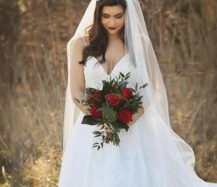 Altar Bridal Wedding Dress Kansas City bride