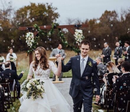 Altar Bridal Wedding Dress Kansas City bubbles