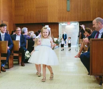 Altar Bridal Wedding Dress Kansas City flower girl
