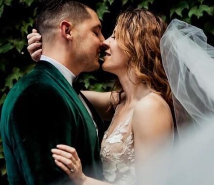 Altar Bridal Wedding Dress Kansas City green
