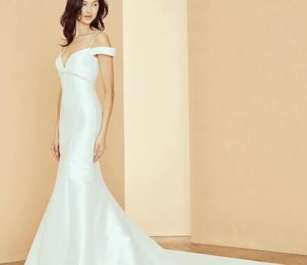 Altar Bridal Wedding Dress Kansas City model sheek