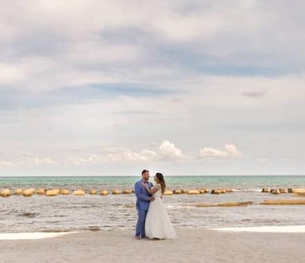 Altar Bridal Wedding Dress Kansas City ocean