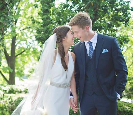Altar Bridal Wedding Dress Kansas City trees