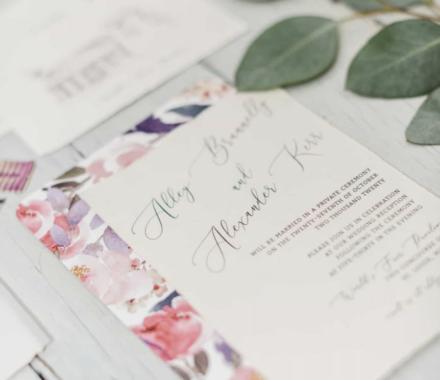 Angie Scott Photography kansas city wedding photographer invite