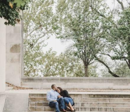 Angie Scott Photography kansas city wedding photographer trees