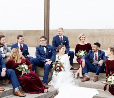 Bailey Pianalto Photography kansas city wedding photographer bridal party