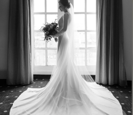Bailey Pianalto Photography kansas city wedding photographer dress