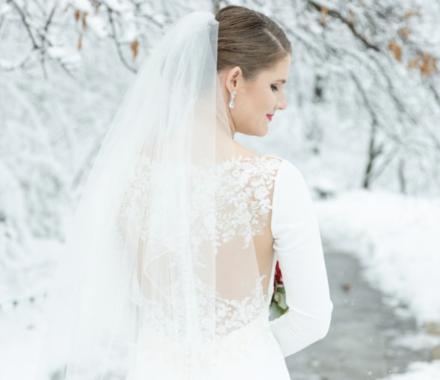 Bailey Pianalto Photography kansas city wedding photographer veil