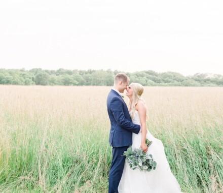 Berry Acres Wedding Venue Kansas City field