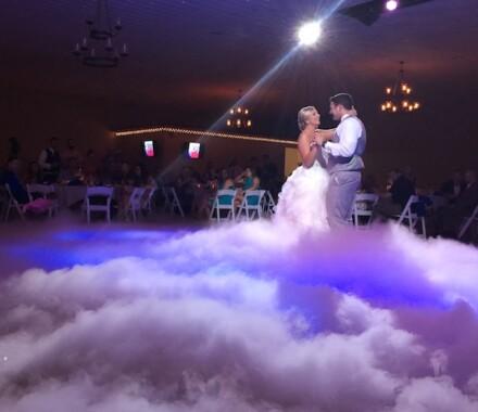 Berry Acres Wedding Venue Kansas City fog