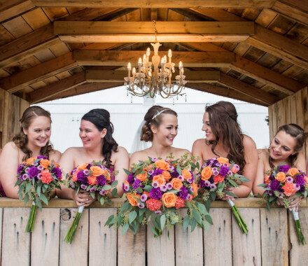 Berry Acres Wedding Venue Kansas City girls