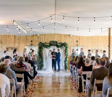 Berry Acres Wedding Venue Kansas City inside