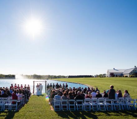 Berry Acres Wedding Venue Kansas City sun