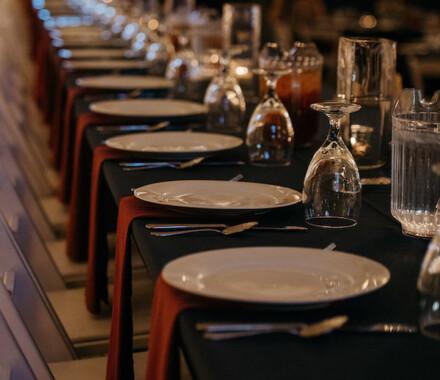 Berry Acres Wedding Venue Kansas City table