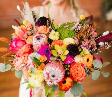 Botanical Floral Design Wedding Florist Kansas City bouquet