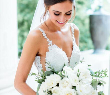 Botanical Floral Design Wedding Florist Kansas City bride