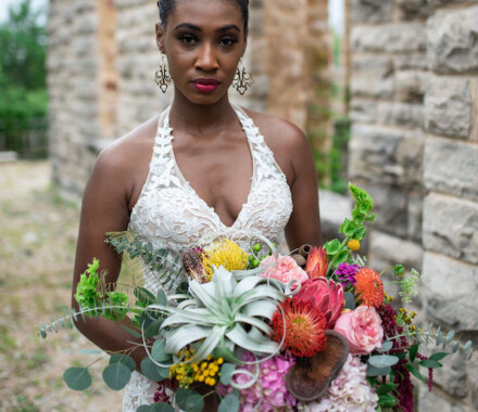 Botanical Floral Design Wedding Florist Kansas City castle