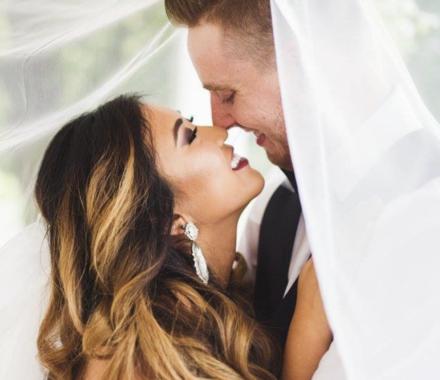 Bronzed and Blushed Bridal Beauty Wedding Kansas City love