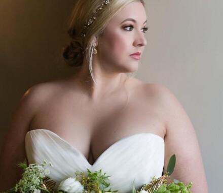 Bronzed and Blushed Bridal Beauty Wedding Kansas City right