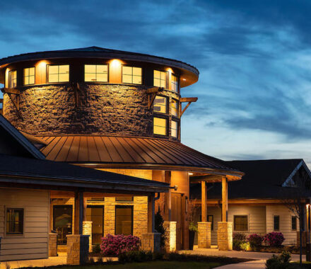 Canyon Farms Golf Club Kansas City Wedding Venue night