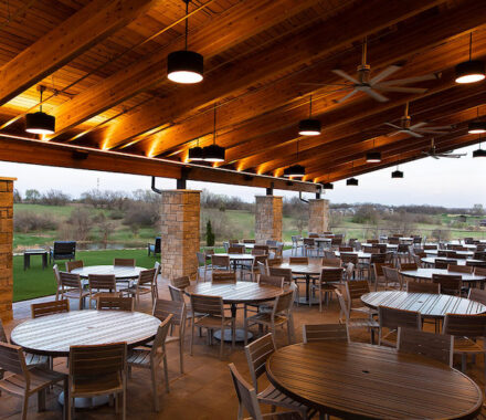Canyon Farms Golf Club Kansas City Wedding Venue porch