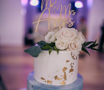 Clever Cakes Wedding Dessert Kansas City green gold
