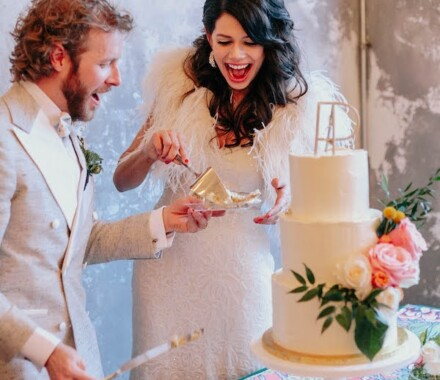 Clever Cakes Wedding Dessert Kansas City happy