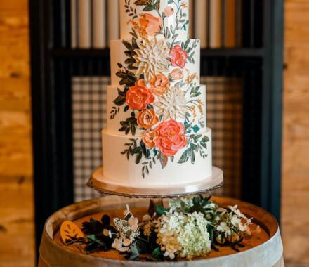 Clever Cakes Wedding Dessert Kansas City painted