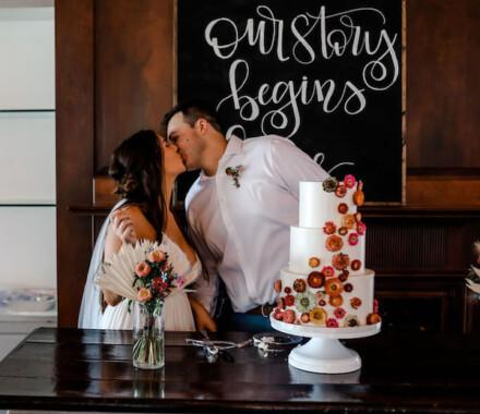 Clever Cakes Wedding Dessert Kansas City story