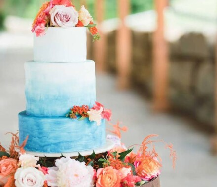 Crumbs and Confections Kansas City Wedding Cake Dessert gradient