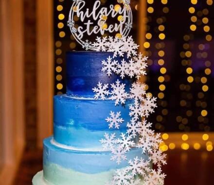 Crumbs and Confections Kansas City Wedding Cake Dessert winter