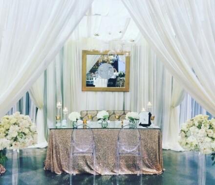 Events by Elle Wedding Planner Kansas City drape