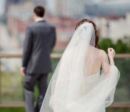 Events by Elle Wedding Planner Kansas City first look