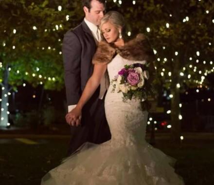Events by Elle Wedding Planner Kansas City lights