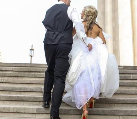 Events by Elle Wedding Planner Kansas City steps